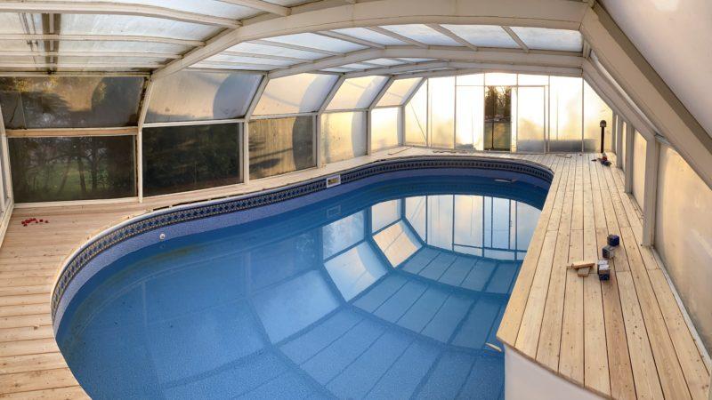 Podlaha bazénu – Jihočeský kraj
