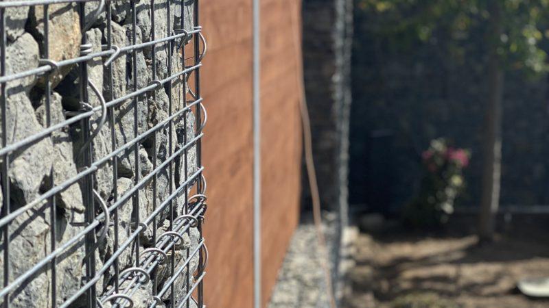 Gabionový plot